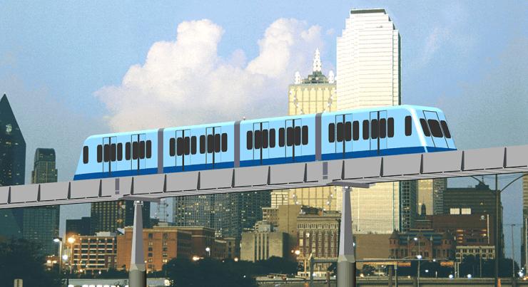 Roam's MegaWay: High-Capacity Urban Mass Transit Service. MegaRail