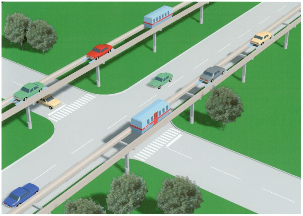 Roam's MegaWay system easily installs along existing street right-of-way.