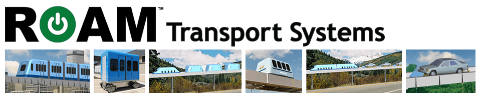 Roam Transport Systems — 21st Century Transport (formerly MegaRail)