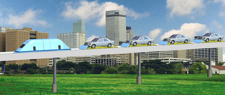 SuperWay—New Type of Freeway in the Sky.